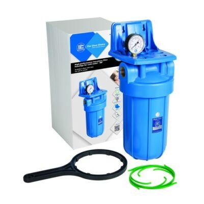 """Aquafilter 10"""" Big Blue szűrőház készlet hideg vízre, 1"""" réz bekötéssel"""