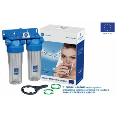 Aquafilter FHPRCL34-B-TWIN kétfokozatú víztisztító készülék