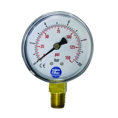 Aquafilter nyomásmérő óra