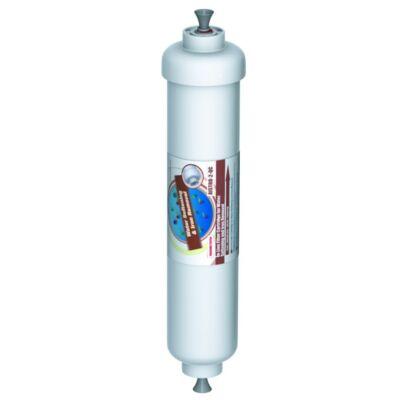 In-line vízlágyító és vastalanító szűrőpatron gyorscsatlakozóval