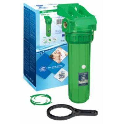 """Aquafilter 10"""" baktérium és UV elleni védelemmel ellátot szűrőház készlet"""
