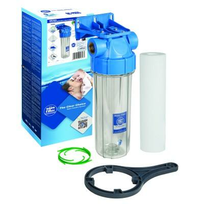 """Aquafilter 10"""" kétrészes szűrőház"""