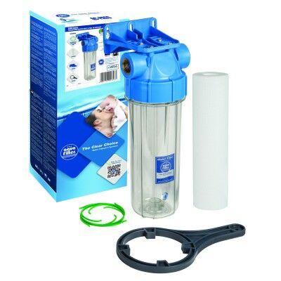 """Aquafilter 10"""" kétrészes szűrőház készlet"""