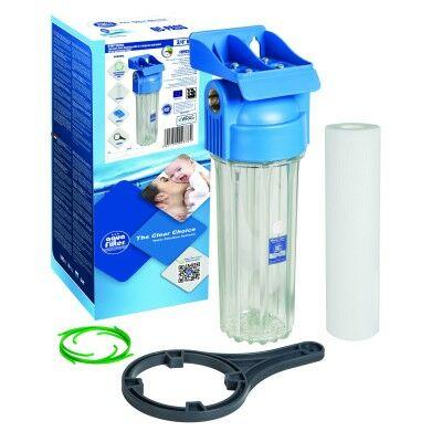 """Aquafilter 10"""" nagynyomású szűrőház készlet"""
